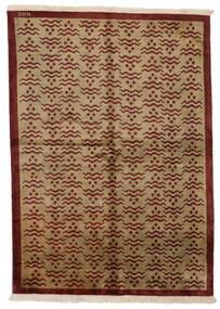 Himalaya Rug 171X237 Authentic  Modern Handknotted Light Brown/Dark Brown/Brown (Wool, India)