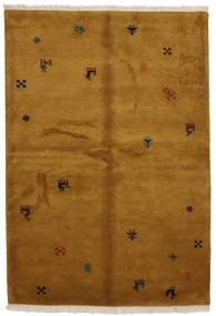 Gabbeh Indo Rug 176X246 Authentic  Modern Handknotted Brown (Wool, India)