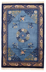 China Antiquefinish Rug 183X274 Authentic Oriental Handknotted Dark Purple/Blue (Wool, China)