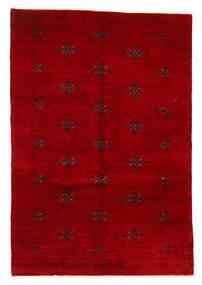 Huttan Rug 125X183 Authentic Oriental Handknotted Dark Red (Wool, Pakistan)