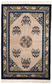 China Antiquefinish Rug 152X229 Authentic  Oriental Handknotted Black/Light Brown (Wool, China)