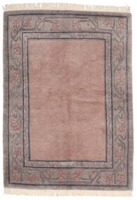 Himalaya Rug 142X197 Authentic  Modern Handknotted Light Pink/Light Grey (Wool, India)