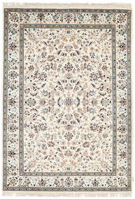 Nain Indo Rug 171X243 Authentic  Oriental Handknotted Light Grey/Beige ( India)
