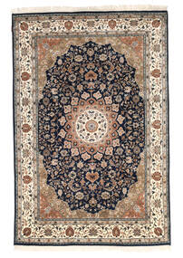 Nain Indo Rug 170X242 Authentic  Oriental Handknotted Brown/Black ( India)