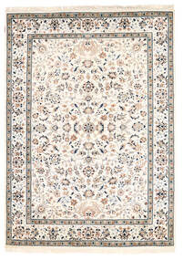 Nain Indo Rug 170X238 Authentic  Oriental Handknotted Beige/Light Grey ( India)