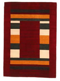 Loribaf Loom Rug 168X237 Authentic  Modern Handknotted Dark Red/Crimson Red (Wool, India)