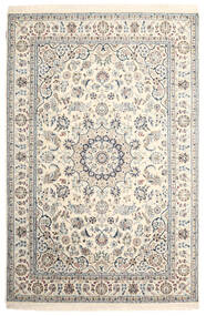 Nain Indo Rug 165X249 Authentic  Oriental Handknotted Beige/Light Grey ( India)