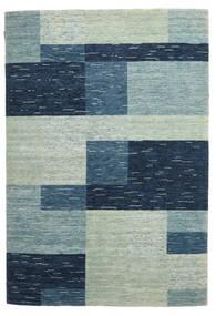 Loribaf Loom Rug 166X244 Authentic  Modern Handknotted Dark Blue/Light Grey (Wool, India)