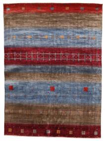Gabbeh Loribaft Rug 162X221 Authentic Modern Handknotted Dark Brown/Dark Red/Dark Grey (Wool, India)