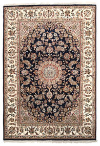 Nain Indo Rug 171X249 Authentic  Oriental Handknotted Brown/Yellow ( India)