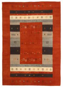 Loribaf Loom Rug 163X234 Authentic  Modern Handknotted Rust Red/Dark Brown (Wool, India)