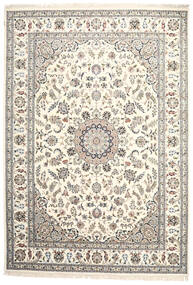 Nain Indo Rug 248X358 Authentic  Oriental Handknotted Beige/Light Grey ( India)
