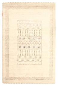 Gabbeh Loribaft Rug 88X133 Authentic  Modern Handknotted Beige (Wool, India)