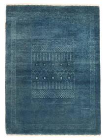 Gabbeh Loribaft Rug 84X125 Authentic Modern Handknotted Dark Blue/Blue (Wool, India)