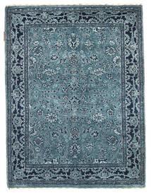 Gabbeh Loribaft Rug 92X122 Authentic Modern Handknotted Dark Blue/Light Blue/Blue (Wool, India)