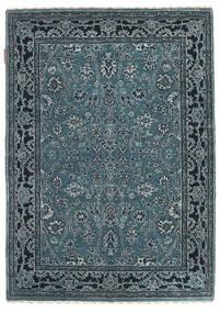 Gabbeh Loribaft Rug 91X128 Authentic Modern Handknotted Blue/Light Grey/Dark Blue (Wool, India)