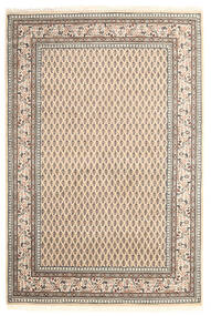 Mir Indo Rug 122X181 Authentic  Oriental Handknotted Beige/Light Grey (Wool, India)