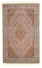 Tabriz Royal Rug 112X183 Authentic  Oriental Handknotted Light Brown/Dark Brown ( India)