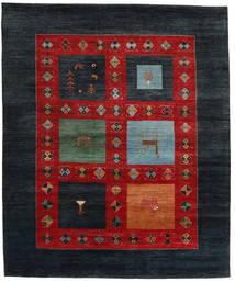 Gabbeh Loribaft Rug 207X251 Authentic  Modern Handknotted Dark Blue/Rust Red (Wool, India)