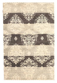 Gabbeh Loribaft Rug 120X183 Authentic Modern Handknotted Beige/Dark Brown (Wool, India)