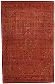Gabbeh Loribaft Rug 201X310 Authentic  Modern Handknotted Crimson Red/Dark Red (Wool, India)
