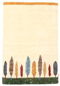 Loribaf Loom Rug 120X177 Authentic  Modern Handknotted Beige (Wool, India)