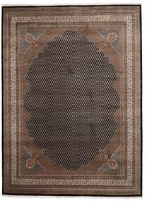 Mir Indo Rug 253X344 Authentic  Oriental Handknotted Dark Brown/Light Brown Large (Wool, India)
