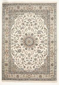 Nain Indo Rug 251X350 Authentic  Oriental Handknotted Light Grey/Beige Large ( India)