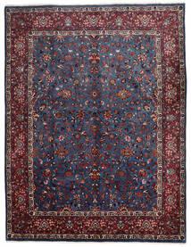 Mashad Rug 305X400 Authentic Oriental Handknotted Black/Dark Red Large (Wool, Persia/Iran)