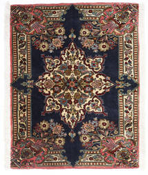 Sarouk Rug 70X90 Authentic  Oriental Handknotted Dark Brown/Black (Wool, Persia/Iran)