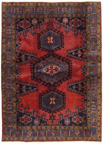 Wiss Patina Rug 173X239 Authentic Oriental Handknotted Dark Red/Black (Wool, Persia/Iran)
