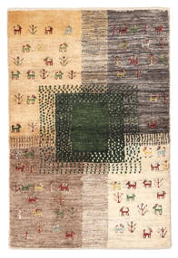 Gabbeh Persia Rug 60X91 Authentic  Modern Handknotted Brown/Beige (Wool, Persia/Iran)