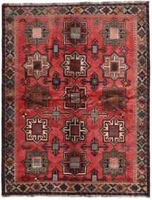 Qashqai Signed: Kadamali Year 1374 (1995) Rug 167X213 Authentic Oriental Handknotted Black/Dark Brown (Wool, Persia/Iran)