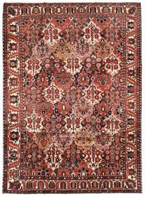 Bakhtiari Rug 218X304 Authentic  Oriental Handknotted Dark Red/Dark Brown (Wool, Persia/Iran)