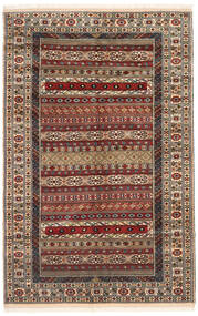 Turkaman Rug 162X246 Authentic Oriental Handknotted Dark Brown/Light Brown (Wool, Persia/Iran)