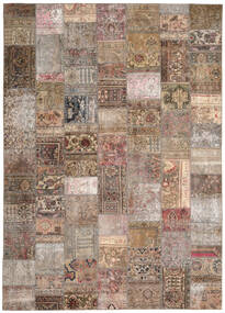 Patchwork - Persien/Iran Rug 254X351 Authentic Modern Handknotted Light Grey/Brown Large (Wool, Persia/Iran)