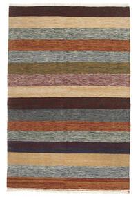 Kilim Rug 100X151 Authentic Oriental Handwoven Dark Brown/Dark Grey (Wool, Persia/Iran)