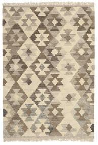 Kilim Rug 104X155 Authentic Oriental Handwoven Beige/Light Grey (Wool, Persia/Iran)
