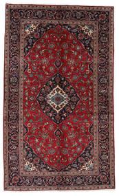 Keshan Rug 148X248 Authentic  Oriental Handknotted Dark Red/Dark Grey (Wool, Persia/Iran)