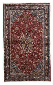 Keshan Rug 130X214 Authentic  Oriental Handknotted Dark Red/Black/Dark Grey (Wool, Persia/Iran)
