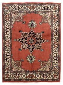 Ardebil Rug 146X196 Authentic  Oriental Handknotted Dark Red/Dark Brown (Wool, Persia/Iran)
