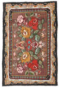 Rose Kelim Moldavia Rug 134X204 Authentic Oriental Handwoven Dark Red/Black (Wool, Moldova)