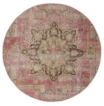 Vintage Heritage Rug Ø 170 Authentic  Modern Handknotted Round Brown/Light Grey (Wool, Persia/Iran)
