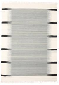 Kati - Grey Rug 140X200 Authentic  Modern Handwoven Light Grey/Beige (Wool, India)