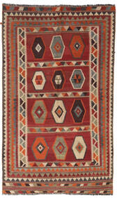 Kilim Vintage Rug 133X232 Authentic Oriental Handwoven Dark Red/Light Brown/Dark Brown (Wool, Persia/Iran)