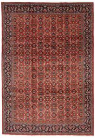 Mahal Rug 219X313 Authentic  Oriental Handknotted Dark Red/Dark Brown (Wool, Persia/Iran)