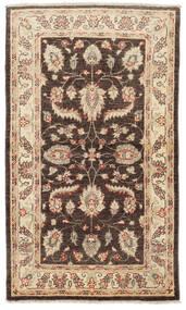 Ziegler Rug 86X154 Authentic  Oriental Handknotted Beige/Dark Brown (Wool, Pakistan)