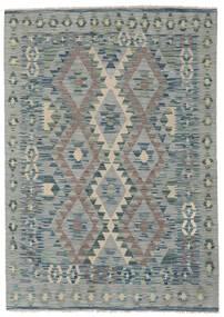 Kilim Afghan Old Style Rug 123X173 Authentic  Oriental Handwoven Dark Grey/Light Green/Light Grey (Wool, Afghanistan)