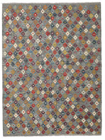 Kilim Afghan Old Style Rug 153X206 Authentic  Oriental Handwoven Dark Grey/Brown/Light Grey (Wool, Afghanistan)