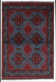 Afghan Khal Mohammadi Rug 101X147 Authentic  Oriental Handknotted Dark Blue/Dark Red (Wool, Afghanistan)